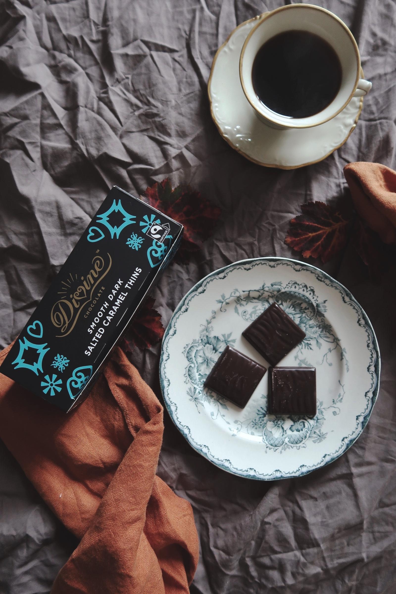 Choklad, kaffe och loppisfynd